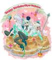 happy birthay Ryou bakura----