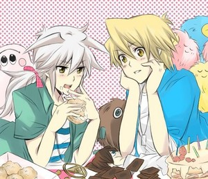 joe and yami bakura-----♥