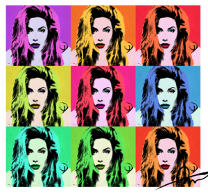 Pop Art (Andy Warhol style)