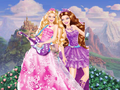 What are Tori and Keira doing at the Princess and the Pauper's set? - barbie-movies fan art