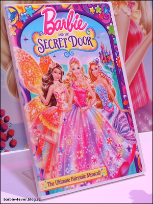 dvd barbie and the secret door