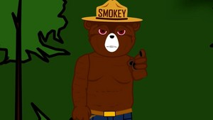 Smokey the menanggung, bear