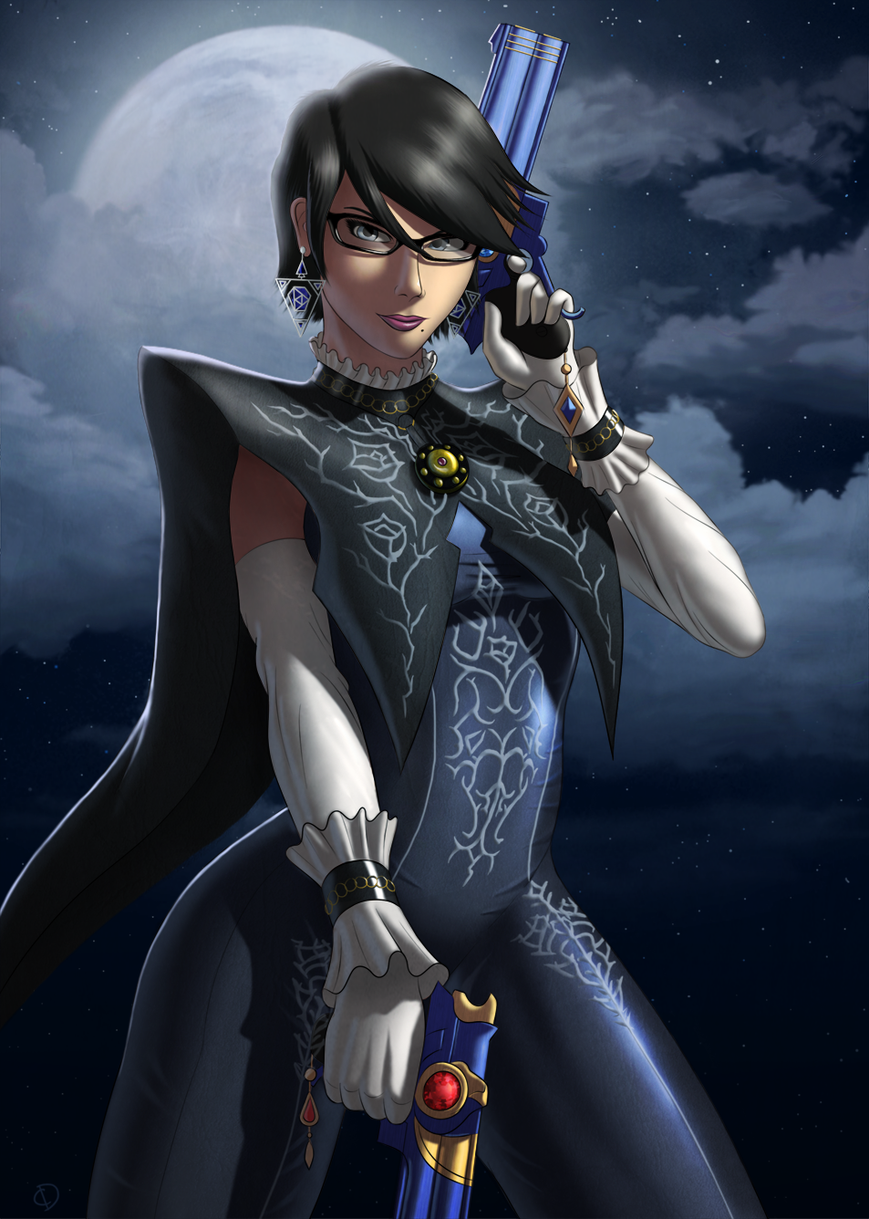 Bayonetta Fan Art New Do' Bayonetta Fan Art
