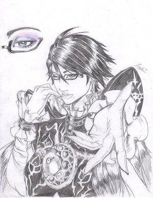 Bayonetta Fan Art