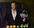Benedict Cumberbatch on Sesame Street - benedict-cumberbatch photo
