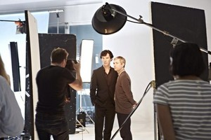 Sherlock Season 3 Photoshoot