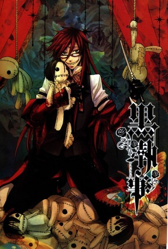 black butler wallpaper with anime titled Grell Suitcliff