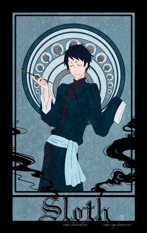 Black Butler's Seven Sins- Lau