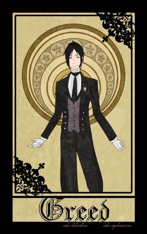 Black Butler's Seven Sins - Sebastian