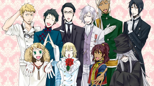 black butler wallpaper possibly containing anime titled Black Butler