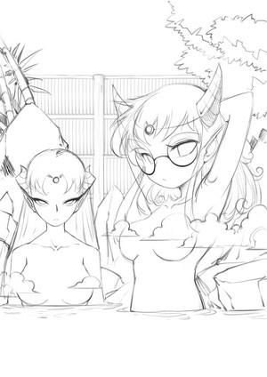 mother-duaghter hotspring