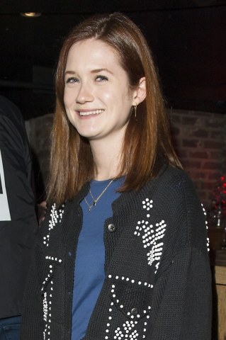 bonnie wright wallpaper probably containing a well dressed person called Tessa Edwards Autumn/Winter 2014 (London Fashion Week)