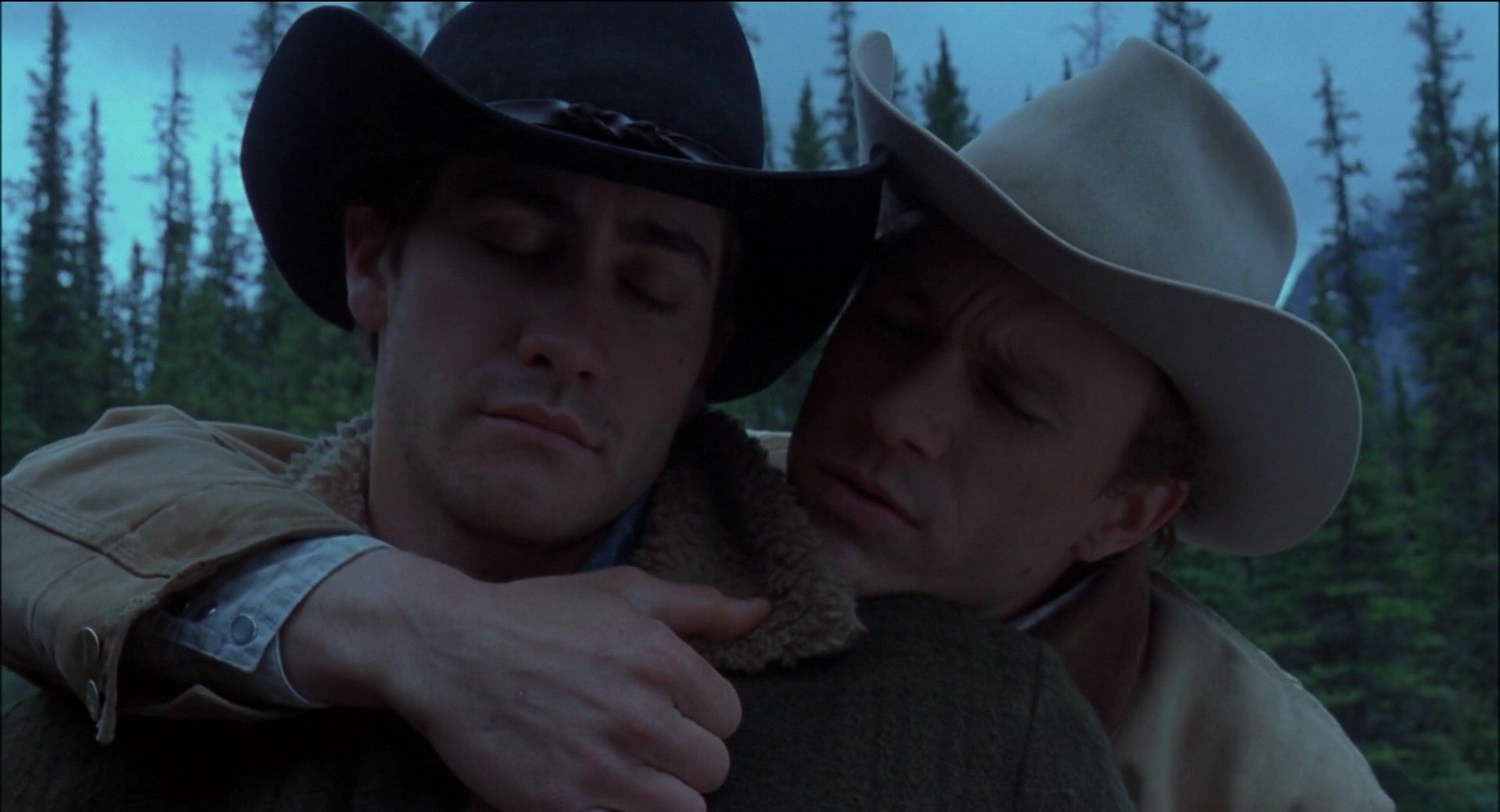 "brokeback mountain wester or romance Brokeback mountain,"" a wrenching love story about two young wyoming men,   as a gay western starring up-and-coming hollywood stars (heath ledger  the  most ""brokeback""-esque of the new films is the lushly romantic,."