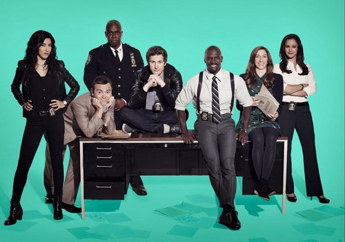 Brooklyn Nine-Nine fondo de pantalla containing a business suit called Brooklyn nine-nine