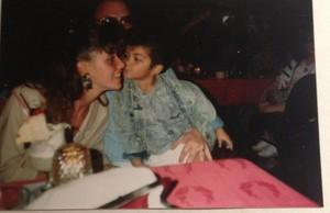4 jaar old Bruno Mars