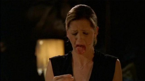Buffy Summers karatasi la kupamba ukuta probably with a portrait called Buffy Summers Screencaps
