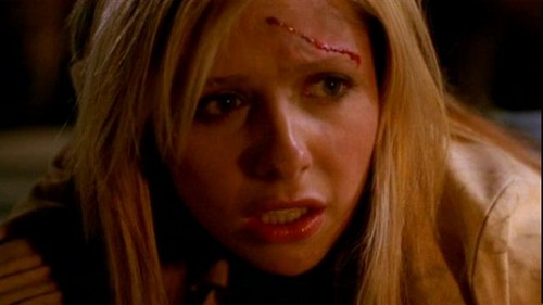 Buffy Summers hình nền containing a portrait entitled Buffy Summers Screencaps