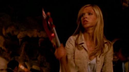 Buffy Summers karatasi la kupamba ukuta entitled Buffy Summers Screencaps