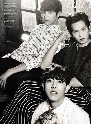 Elle Korea's March 2014 Issue Feat. CNBLUE