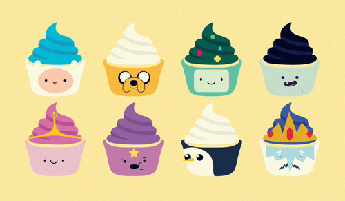 Adventure time ice cream