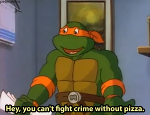TMNT пицца