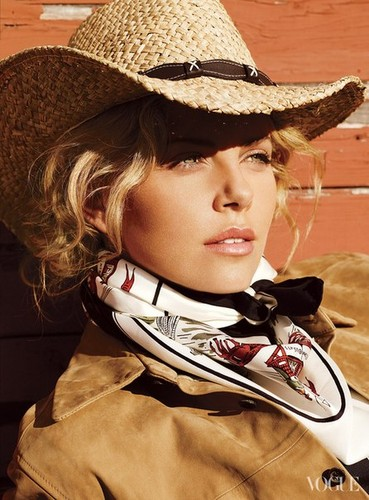 Charlize Theron wallpaper containing a fedora, a snap brim hat, and a boater called * charlize *