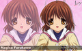 ○♥(Nagisa)♥○ - clannad wallpaper