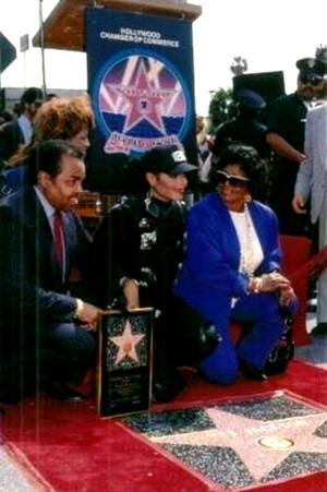 Janet Jackson Walk Of Fame Induction Ceremony Back In 1990