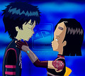William and Yumi - code-lyoko fan art