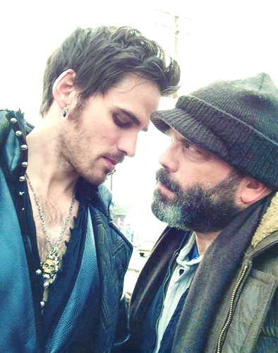Colin O'Donoghue wallpaper called Colin and Lee Arenberg