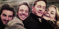 Colin, Michael Raymond-James, Josh Dallas and Jennifer Morrison