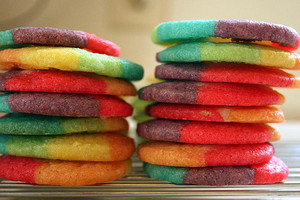 color cookies----♥