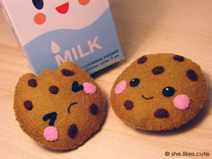 milk and cookie plush----------♥