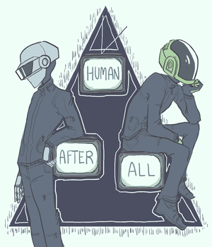 Daft Punk peminat art sejak Tumblr user sailorleo