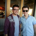 Damo with a fan - damian-mcginty photo