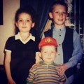 TBT. I loved red hats. My big brother and sister. And I was chubby. - damian-mcginty photo