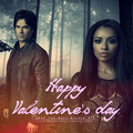 Happy Valentine's Day 2014 - damon-and-bonnie fan art