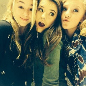 Chloe, Brooke, and Paige