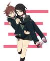 Mukuro and Naegi