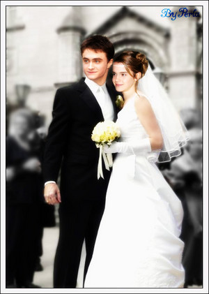 Daniel and Emma Radcliffe née Watson