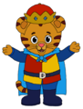 King Daniel Tiger - daniel-tigers-neighborhood fan art