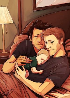 Dean and Castiel ♢