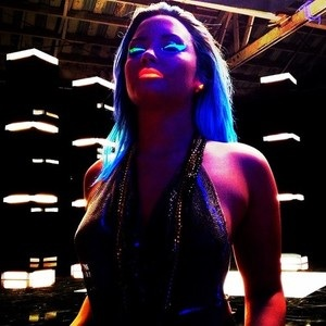 Demi Lovato wallpaper entitled Neon Lights