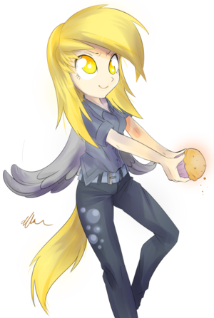Human Derpy Hooves
