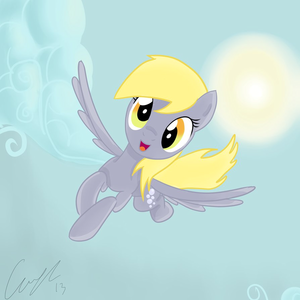 Derpy Flying