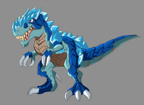 dinosaurus wallpaper entitled trex dino froz