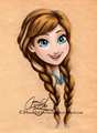 Anna       - disney-heroines fan art