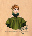Little Anna - disney-leading-ladies fan art