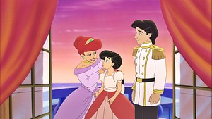 Disney Princess Screencaps - Princess Ariel, Princess Melody & Prince Eric