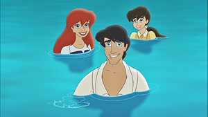 Disney Princess Screencaps - Princess Ariel, Prince Eric & Princess Melody